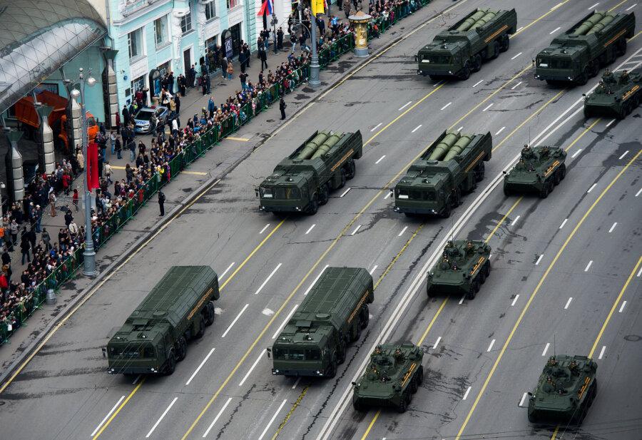 РФперебросила «Искандер-М» вКалининград— агентура США