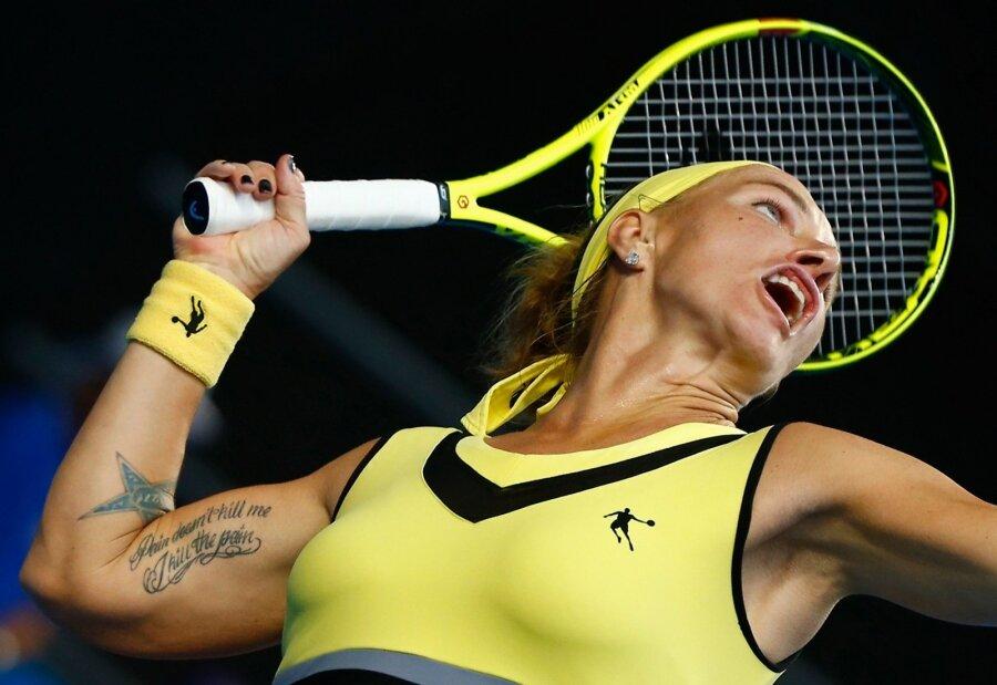 Павлюченкова обыграла Свитолину ивышла вчетвертый круг Australian Open