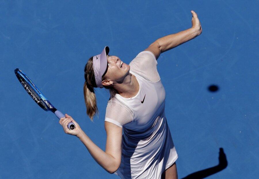 Шарапова уверенно вышла во 2-ой круг Australian Open
