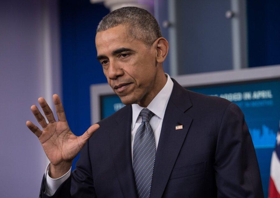 Обама проведет встречу сТрампом нафоне протестов приверженцев Клинтон