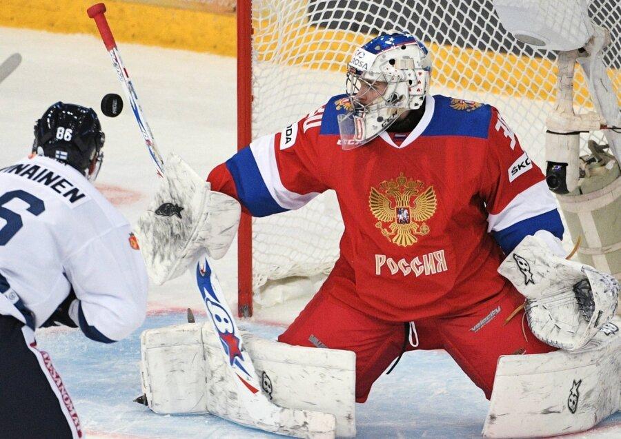 Сборная РФ похоккею потерпела 3-е поражение подряд наЧешских играх