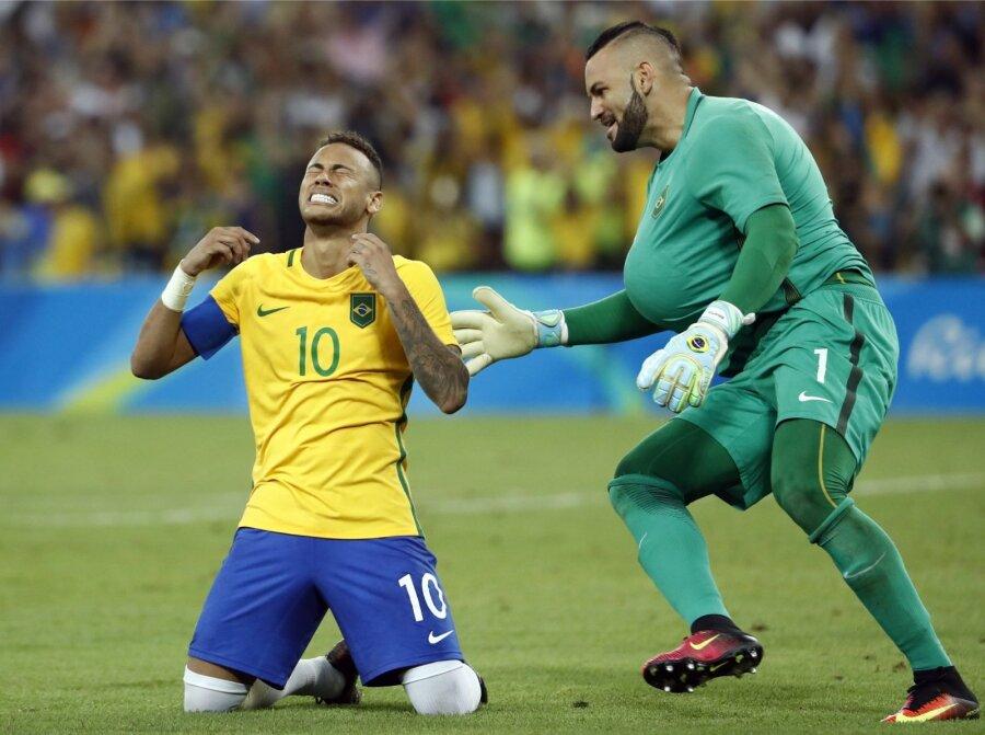 Сборная Германии пофутболу уступила вфинале вРио Бразилии