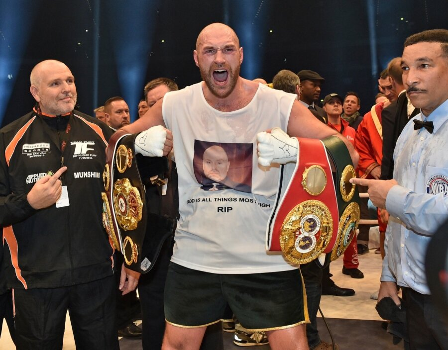 Британский боксёр Фьюри попался накокаине