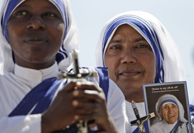 Католическая церковь 4сентября канонизирует мать Терезу