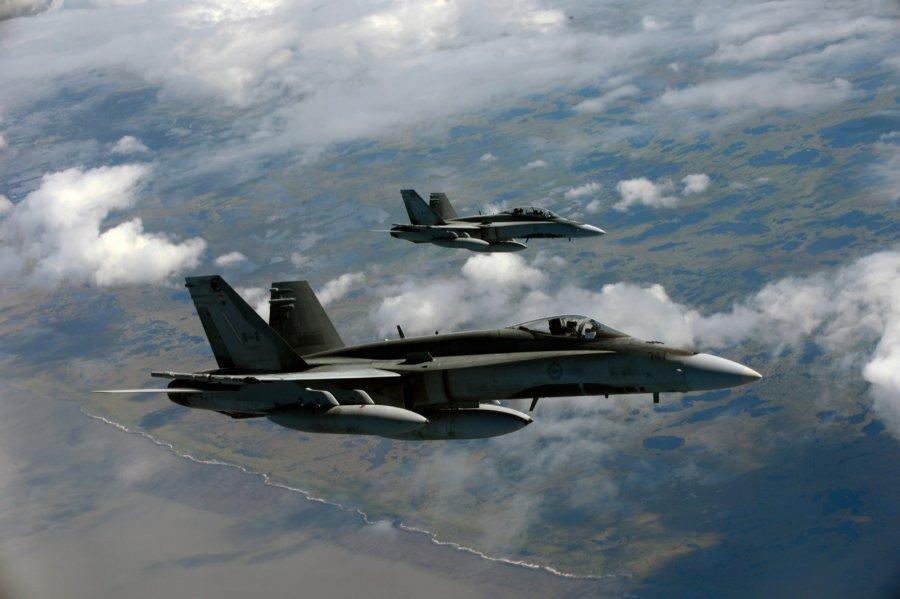 НАТО сообщило оперехвате русских  истребителей над Балтикой