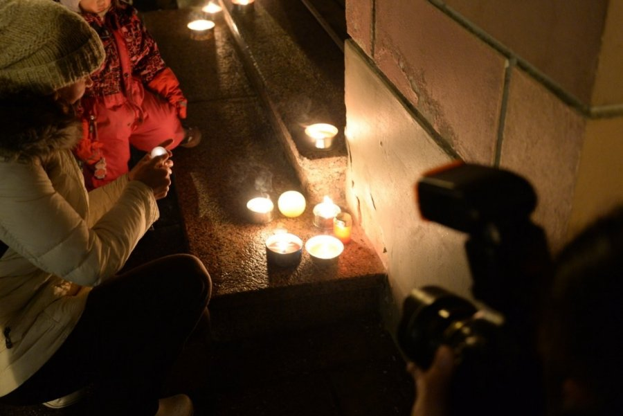 Геи при свечах