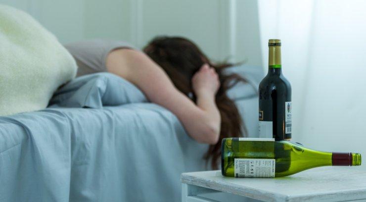 Для нарушений сна при алкоголизме