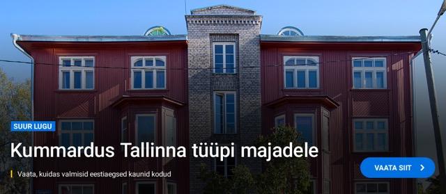 Kummardus Tallinna tüüpi majadele