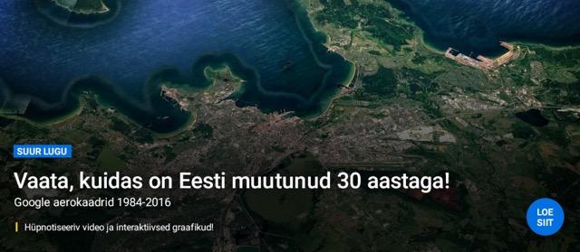 Vaata, kuidas on Eesti muutunud 30 aastaga!