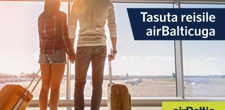Tasuta reisile airBalticuga